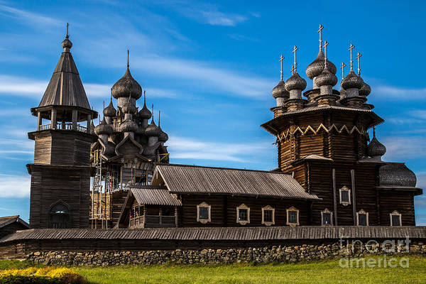 Wall Art - Photograph - Wooden Architecture Nordic Countries by Timin