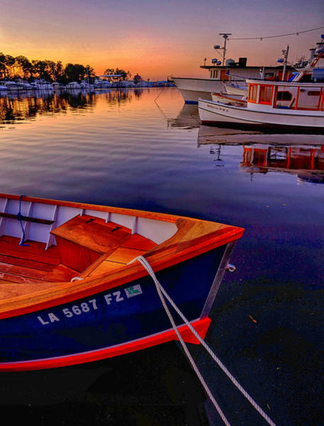Wooden Boats Art Print