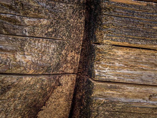 Photograph - Wooden Wall by Juan Contreras