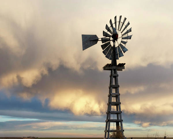 Photograph - Wooden Windmill 01 by Rob Graham