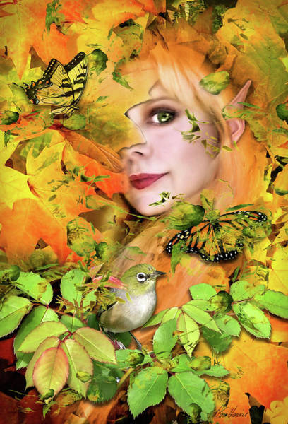 Photograph - Woodland Faery by Diana Haronis