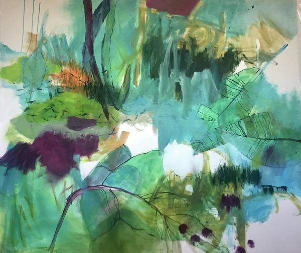Wall Art - Painting - Woodland by Gerrit Oppelland-Hampel