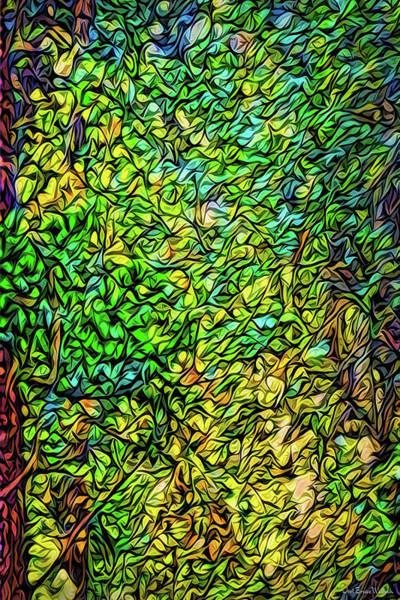 Digital Art - Woodland Meditation by Joel Bruce Wallach