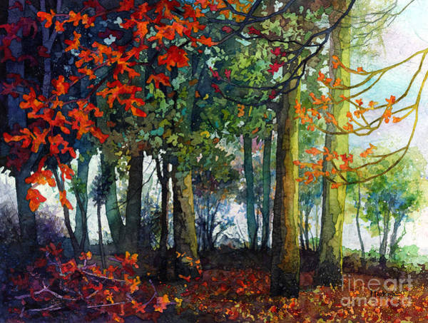 Painting - Woodland Trail by Hailey E Herrera