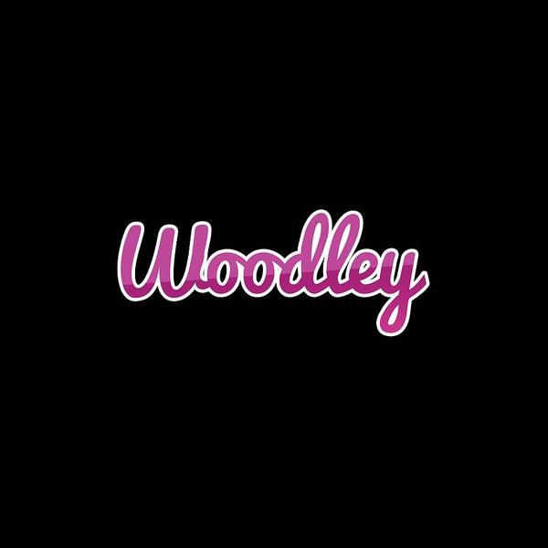 Wall Art - Digital Art - Woodley #woodley by TintoDesigns