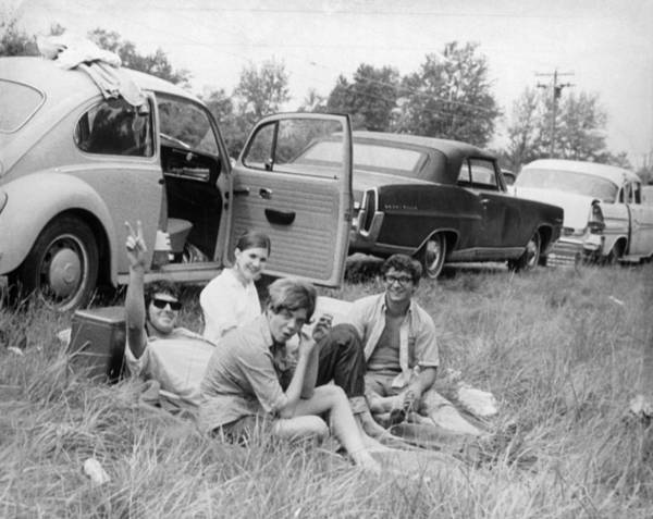 Friendship Photograph - Woodstock Picnic by Three Lions