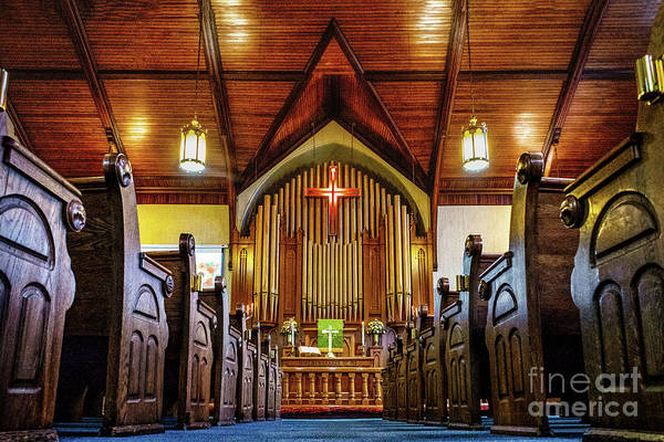 Photograph - Woodstown Church by Nick Zelinsky