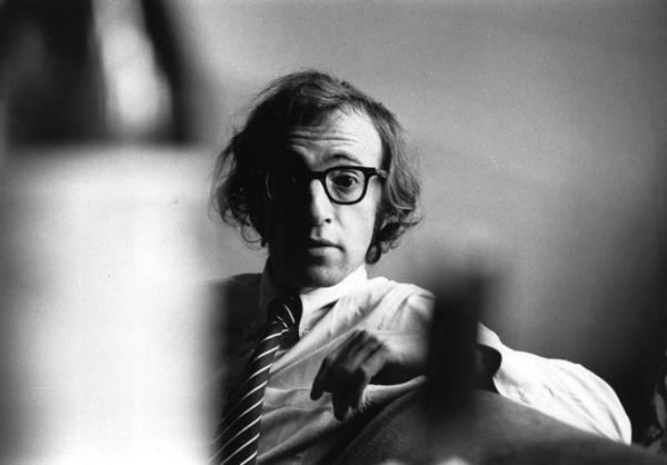 Woody Allen Art Print by Evening Standard