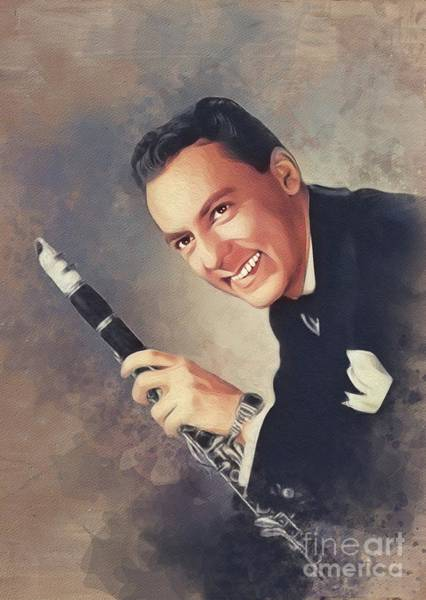 Wall Art - Painting - Woody Herman, Music Legend by John Springfield
