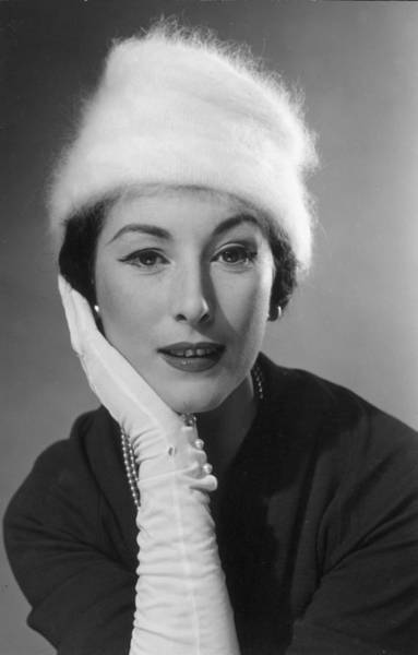 1958 Photograph - Wool Hat by Chaloner Woods