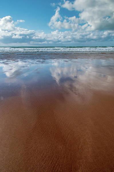 Wall Art - Mixed Media - Woolacombe Beach by Smart Aviation