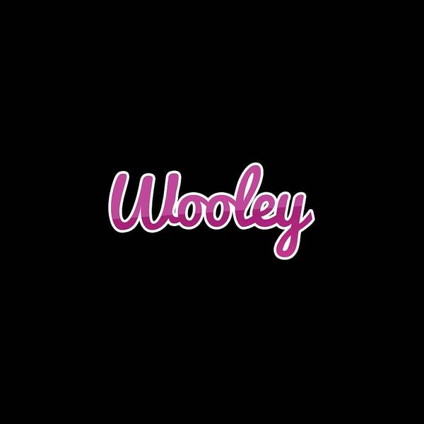 Wall Art - Digital Art - Wooley #wooley by Tinto Designs