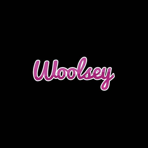 Digital Art - Woolsey #woolsey by Tinto Designs