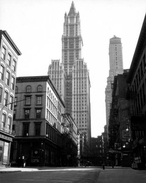 Woolworth Building, New York City, New Art Print by Jupiterimages