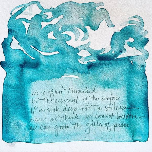 Painting - Word Painting 3 by Anna Elkins