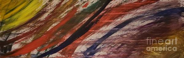 Psychosis Painting - Word Salad by David Avila