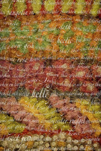 Digital Art - Words Escape Me by Becky Titus
