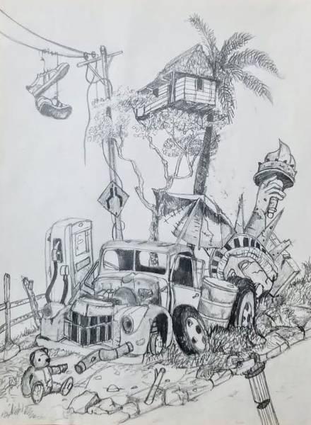 Work Art Print
