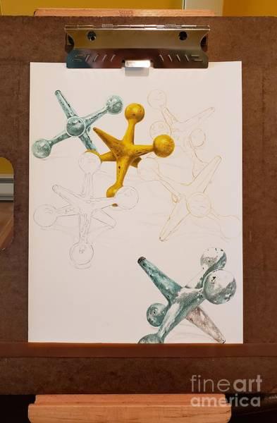 Wall Art - Drawing - Work In Progress- Jacks For Jack by Sarah Batalka