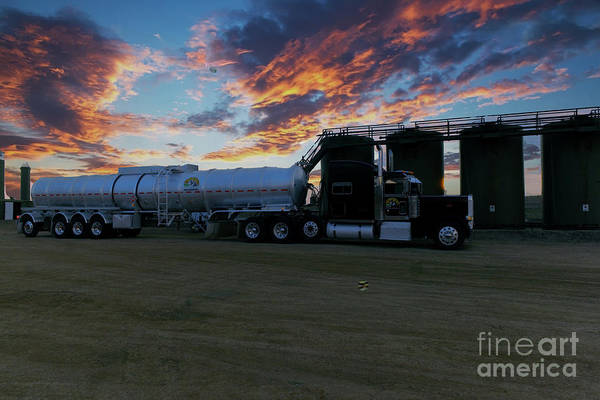 Wall Art - Photograph - Work Truck by Jeff Swan