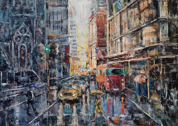 Painting - Workday II by Stefano Popovski