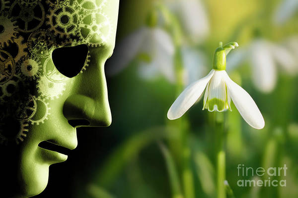 Merge Digital Art - Working In Harmony Wth Nature Concept by Simon Bratt Photography LRPS