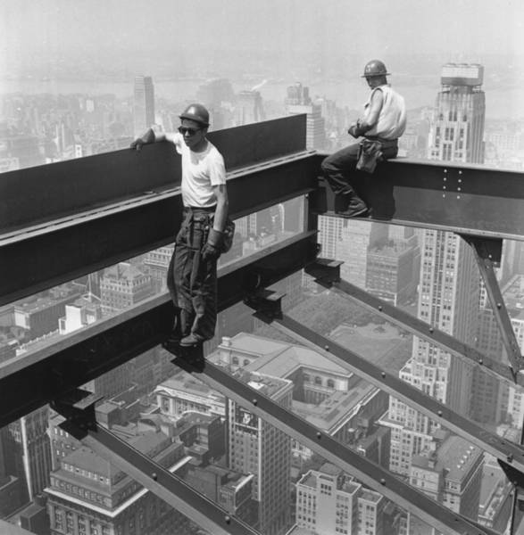 Working Photograph - Working In The Sky by Keystone