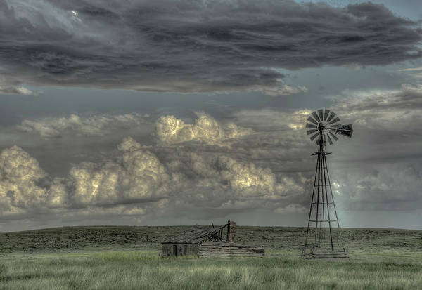 Photograph - Working Windmill by Laura Hedien