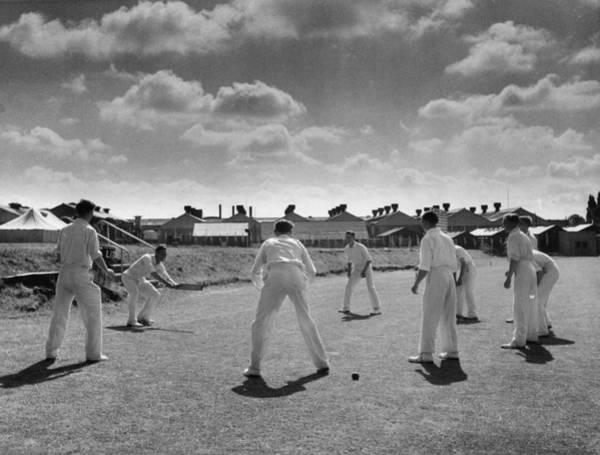 Fielder Photograph - Works Cricket by Haywood Magee