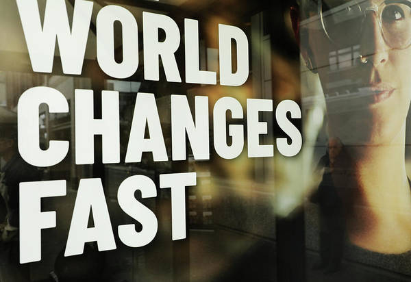 Wall Art - Photograph - World Changes Fast by The Artist Project
