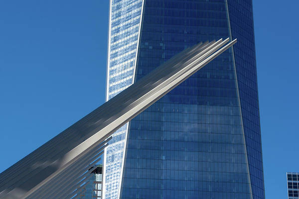 Photograph - World Trade Center And Oculus In Manhattan by Mark Hunter