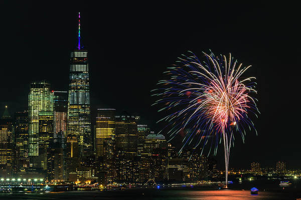 Photograph - World Trade Center Nyc  Pride by Susan Candelario