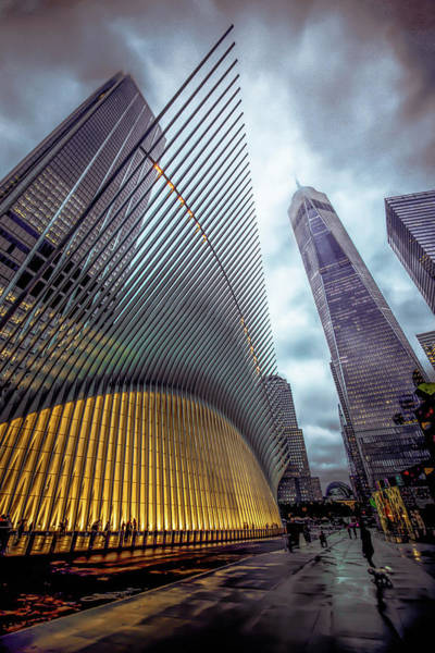 Wall Art - Photograph - World Trade Center V1  by Michelle Saraswati