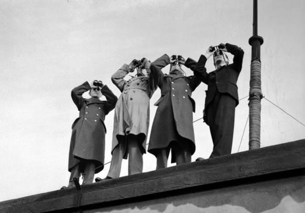 Binoculars Photograph - World War II, 6th February 1941 by Popperfoto
