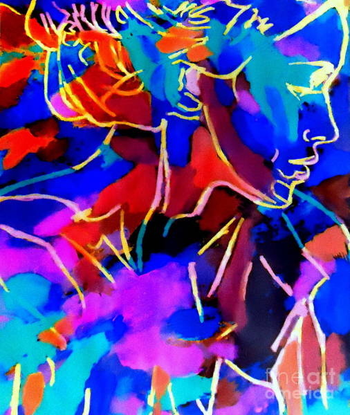 Painting - Inner Depths by Helena Wierzbicki