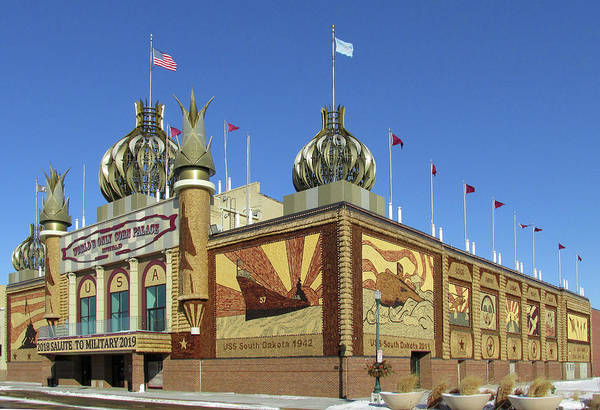 Photograph - Worlds Only Corn Palace 2018-19 by Rich Stedman