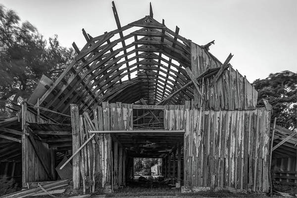 Photograph - Worn Arkansas Barn by Gregory Ballos