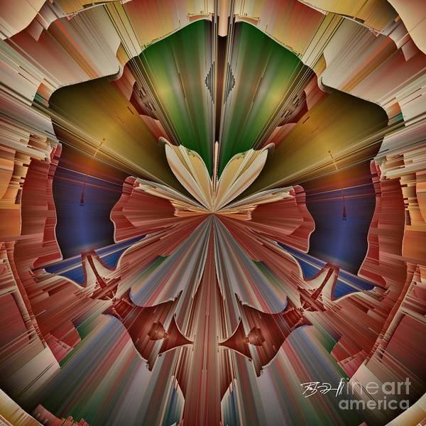 Digital Art - Worrior by Rob Mandell
