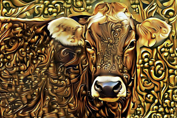 Digital Art - Worth Her Weight In Gold by Peggy Collins