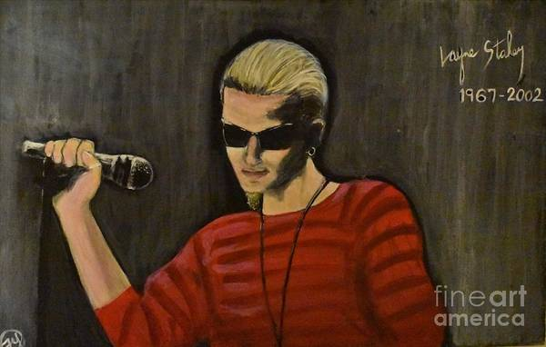 Layne Staley Painting - Would by Faye Young