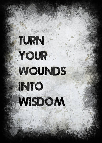 Wall Art - Photograph - Wounds Into Wisdom by Ricky Barnard