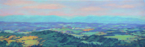 Wall Art - Painting - Woven Together - Shenandoah Valley by Bonnie Mason