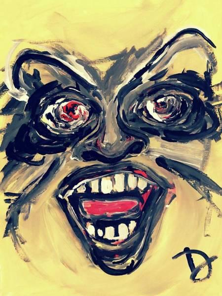 Wall Art - Painting - Wrath by Debora Lewis