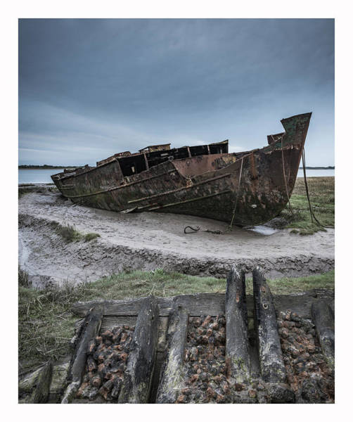Uk Photograph - Wrecked  by Mark Mc neill