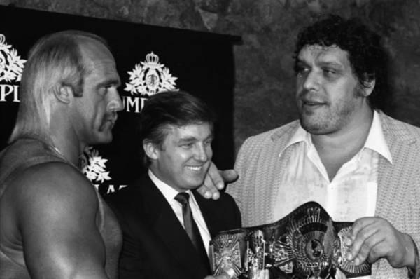 Hogan Photograph - Wrestlemania At The Trump Plaza by Fred W. McDarrah