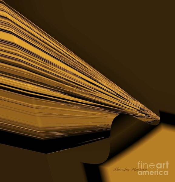 Wall Art - Digital Art - Write To The Point by Marsha Heiken