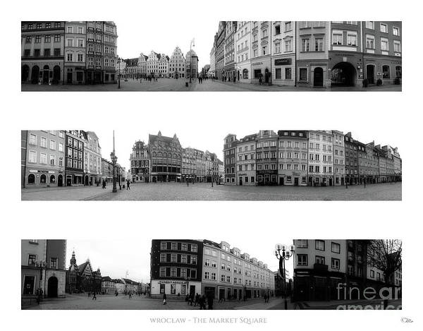 Wall Art - Photograph - Wroclaw - The Market Square by Mo T