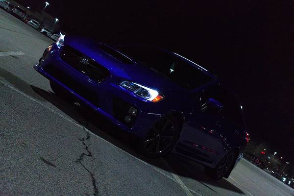 Wrx Photograph - Wrx Nighttime by Wesley Gray