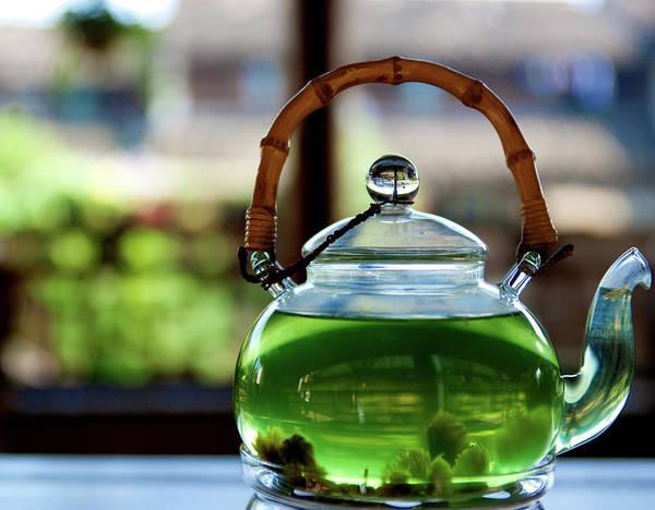 Handle Photograph - Wuzhen In Teapot by By Ross Alan Pollack, Hong Kong
