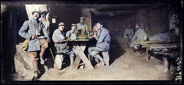 Painting - Wwi Bunker 1917 by Celestial Images